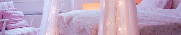 Лампички в завеса / Светеща завеса