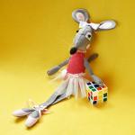Сива мишка балеринка