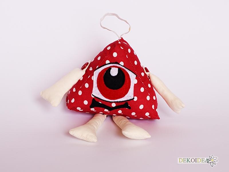 Точковците- геометрична фигура играчка- триъгълник