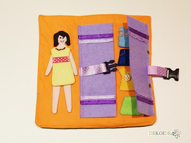 """Интерактивна текстилна книжка """"Моята къща"""""""