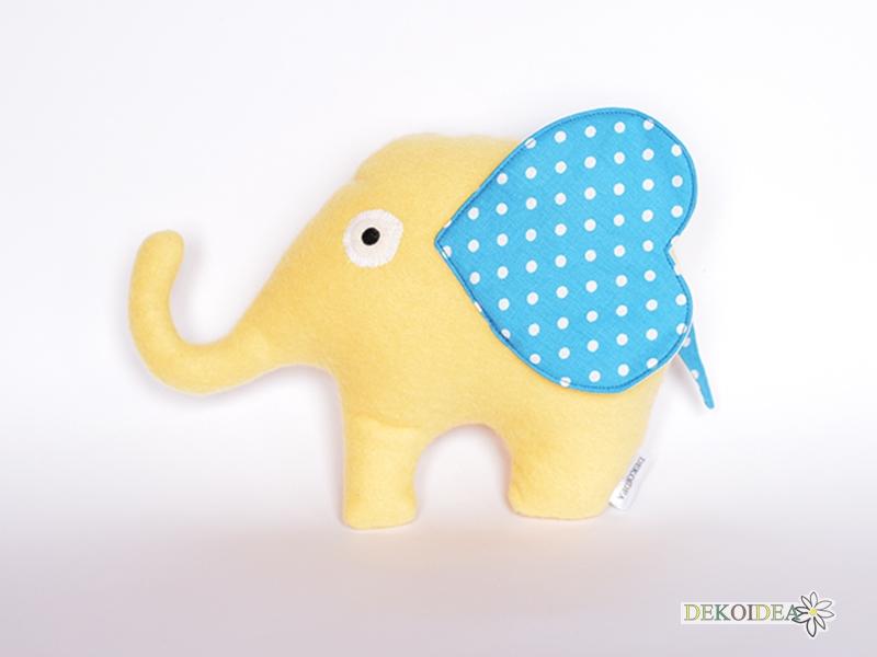 Мека бебешка играчка Гушкаво Слонче