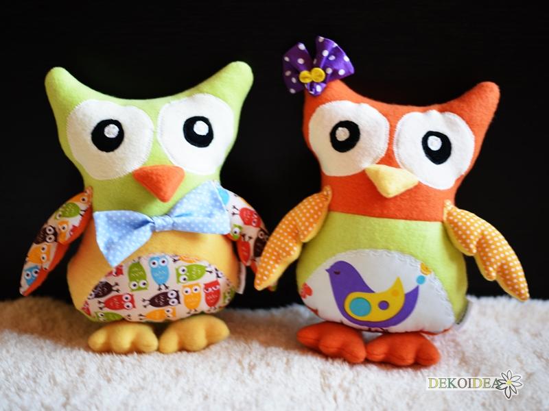 Играчки Бухалчета- Момче и Момиче