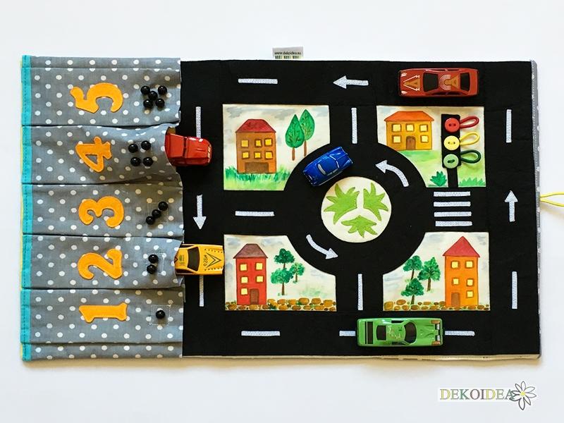 Килимче- Игра с гараж за коли